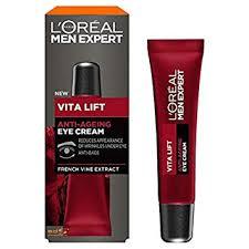 <b>L'Oreal Paris Men's Expert</b> Vita Lift Anti-Ageing Eye Cream, 15 ml ...