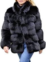 Real Fox Fur Coat - Amazon.com