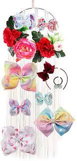 Bow Organizer for Girls Fringe Hair Bows Headband ... - Amazon.com