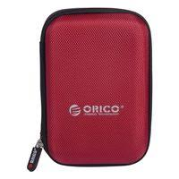 "<b>Orico 2.5</b>"" Portable <b>Hard</b> Drive Protector Bag - Red 