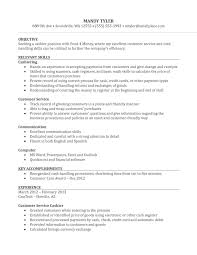 sample experienced cashier resume sample resume for cashier position