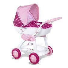 Купить <b>коляску для кукол Smoby</b> Коляска-люлька Hello Kitty для ...