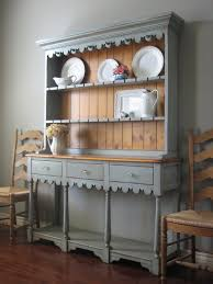rustic hutch dining room: harmonious home dining room decoration expressing