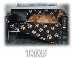 <b>TRIXIE Подстилка</b>-<b>плед</b> ` <b>Barney</b> ` 150х100см бежевый 37181