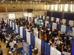 8 job fair tactics work getting it keeping it job fair overhead picture