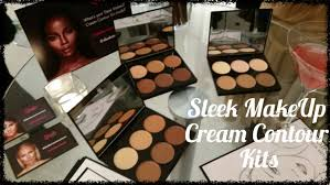 review new sleek makeup cream contour kits with demo 2016 08