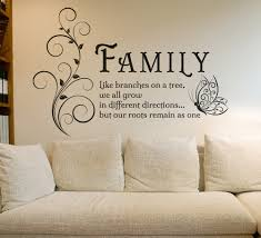 wall decal family art bedroom decor family tree butterfly wall art sticker wall decals quotes mural family entrance hall living room home decor