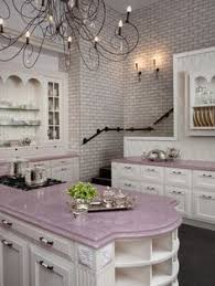 shaped kitchen design gorgeous floral i would be happy in this kitchen maybe not so my husband