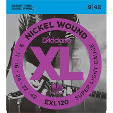 <b>EXL120</b> XL NICKEL WOUND <b>Струны</b> для электрогитары Super ...