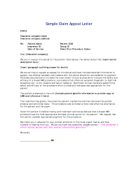 appeal letter sample how to print letters cover letter sample for medical insurance appeal letter sample