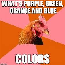 Anti Joke Chicken Meme - Imgflip via Relatably.com