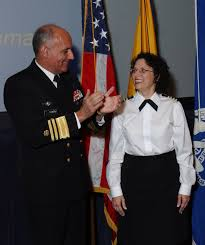 nih clinical center carol r o right surgeon general richard h carmona at her formal promotion