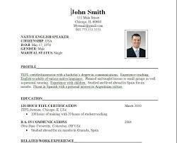 category resume format and sample