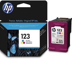 <b>Картридж HP 123</b> (<b>F6V16AE</b>), голубой, пурпурный, желтый, для ...