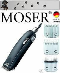 <b>MOSER</b> 1245 <b>MAX</b> 45 Clipper & 4 Shaving Heads 1MM,5MM,7MM ...