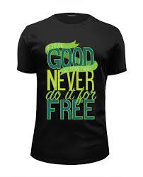Футболка Wearcraft Premium Slim Fit Good Never <b>Free</b> (Joker ...