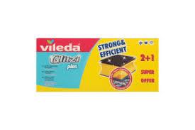<b>Губка</b> для посуды <b>Vileda Glitzi</b> Plus для кастрюль 3шт, упак ...