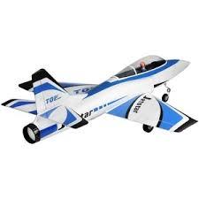 <b>Радиоуправляемый самолет TOPrc</b> Jet Star синий 65mm PNP ...