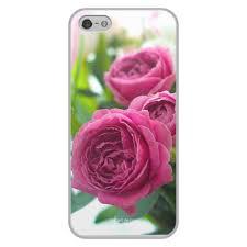 """Чехол для iPhone 5/5S, объёмная печать """"<b>Розовые розы</b> ..."""