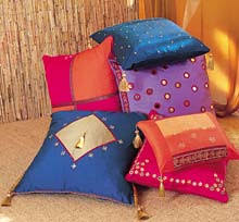 Indian summer color block pillows from Joann Stores @ www.joann ...