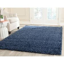 california shag navy 4 ft x 6 ft area rug california shag black 4 ft