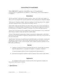 subcontractor long form contract contractor and employee subcontractor long form contract contractor and employee subcontractor agreement form