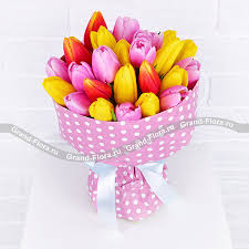 Купить <b>букет</b> цветов <b>Радужная карамель</b> - <b>букет</b> из ...