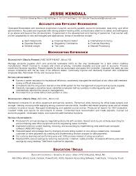 attractive index of accounting bookkeeping resume sample summary outstanding bookkeeper sample office manager summary duties accounting bookkeeping resume