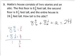 lesson 6 9 problem solving fractions addition nd subtraction lesson 6 9 problem solving fractions addition nd subtraction