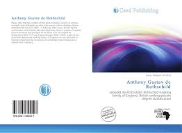 search results for british undergraduate degree classification bookcover of anthony gustav de rothschild