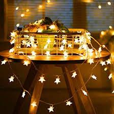 <b>Star Fairy Lights</b>, Sunnest <b>String Lights</b> Warm White 50 LED 5M ...