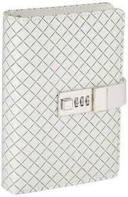 JunShop PU <b>Leather Journals</b> Note Books Secret <b>Diary</b> with <b>Lock</b> ...
