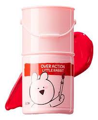 Купить <b>тинт</b>-<b>помада для губ Over</b> Action Rabbit Lip Paint 5г The ...