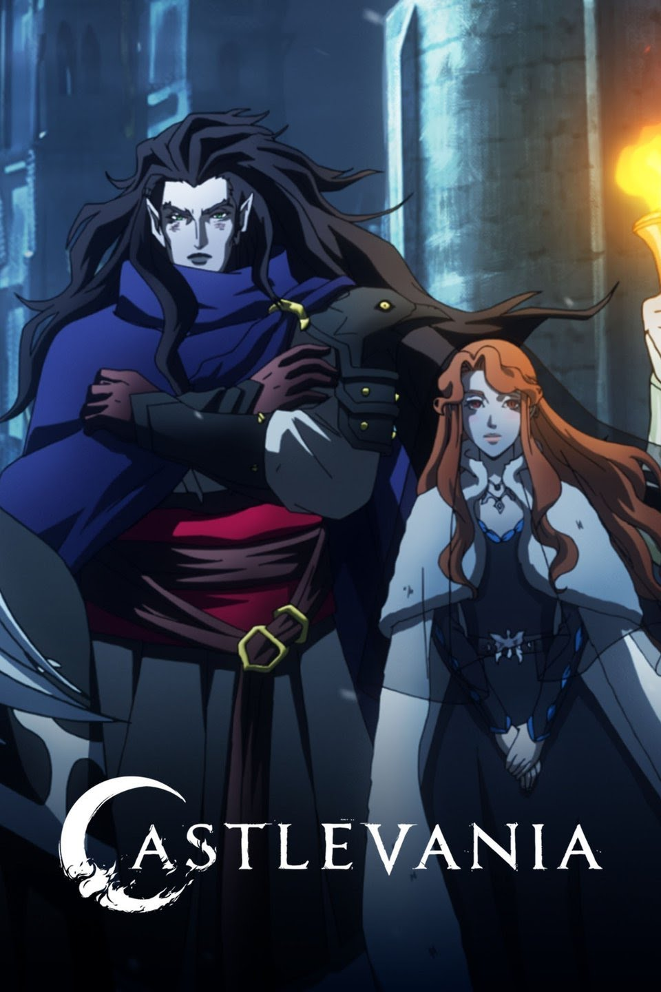 Castlevania action anime