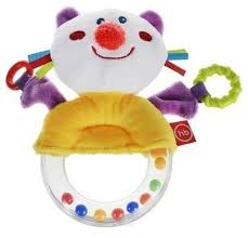 Купить Погремушка <b>Happy Baby Funny</b> Kitty разноцветный по ...