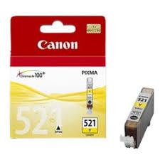 Купить <b>картридж Canon CLI-521Y</b> Yellow в интернет магазине ...