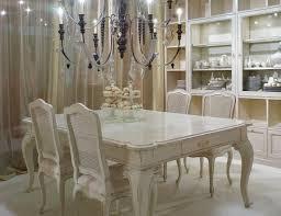antique white formal dining room set