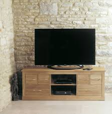 baumhaus mobel solid oak six drawer television cabinet fully assembled baumhaus mobel solid oak fully