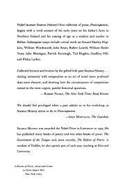 com preoccupations selected prose  com preoccupations selected prose 1968 1978 9780374516505 seamus heaney books