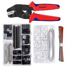 Crimping Tool Kit, Preciva <b>Dupont</b> Ratcheting Crimper Plier Set with ...
