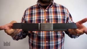 Big - <b>Wide Leather</b> Belts for Men | Ratchet Mens Stretch <b>Leather</b> Belt