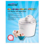 Ice cream sorbet maker