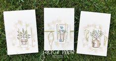 Trio of <b>Thank You</b> cards <b>Just Because</b> | 2019 Occassion Catty ...