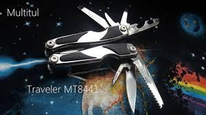 Multitool <b>Traveler</b> МТ8441 - YouTube