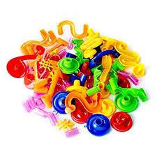 Amazon.com: YUTALOW Marble Run Toy,105/109Pcs+30 Marbles ...