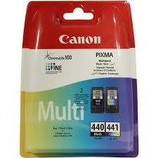 Комплект оригинальных <b>картриджей Canon PG</b>-<b>440</b> (с черными ...