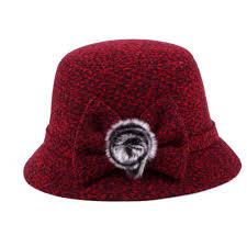 Fashion Casual Woolen <b>Fedora Hats Female</b> Autumn 2018 Party ...