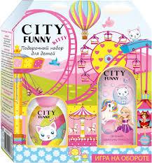 City Parfum <b>Парфюмерный набор City Funny</b> Kitty: душистая вода ...