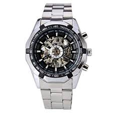 Handcuffs Digital Black Dial <b>Men's Watch Winner</b> TM340: Amazon.in ...