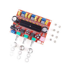 ANGEEK <b>XH</b>-<b>M139 2.1 channel</b> digital power amplifier board 12V ...